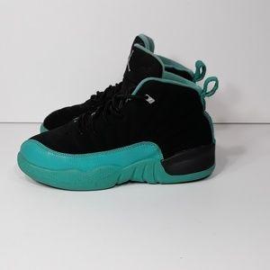Nike Air Jordan XII Retro Black Sz 1.5 Youth